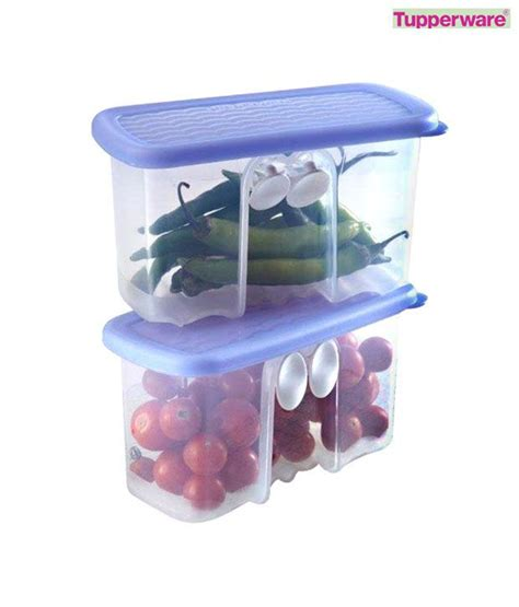 Tupperware Mini Freezermate With Dpt 2 Pcs 1 tupperware mini fridge smart set 2 pcs buy at best price in india snapdeal