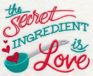 Free Kitchen Embroidery Designs The Secret Ingredient Is Freeembroiderydesigns