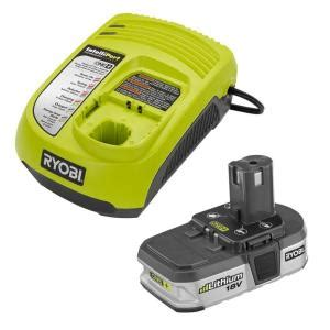 ryobi 18 volt one lithium ion battery and charger upgrade