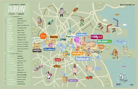 Dublin Technology Scene ? An Illustrated Map   Visit Dublin