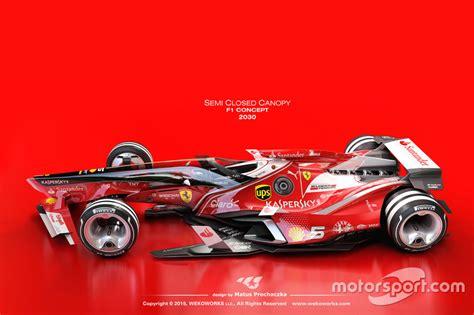 design formula photos un designer imagine la f1 en 2030 motorsport com