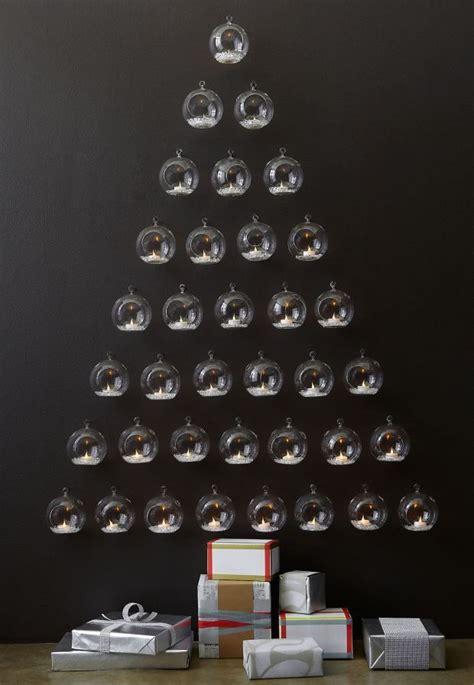 albero di natale con candele albero di natale originale e alternativo albero candele
