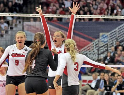 printable nebraska volleyball schedule nebraska volleyball the unanimous favorite in big ten