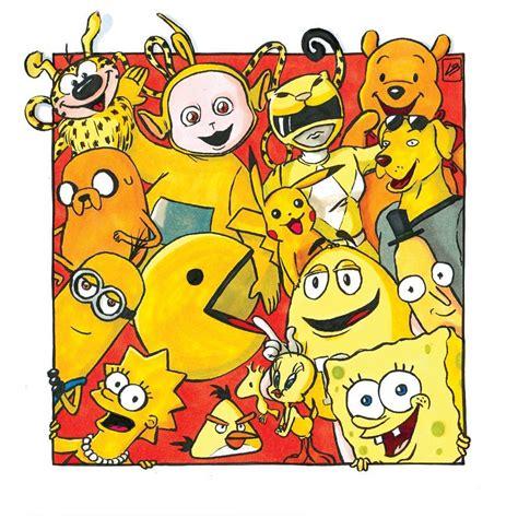 jai classe certains personnages celebres par couleur