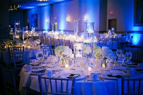 decor lighting dexknows wedding reception romantic decoration  blue wedding reception decor li