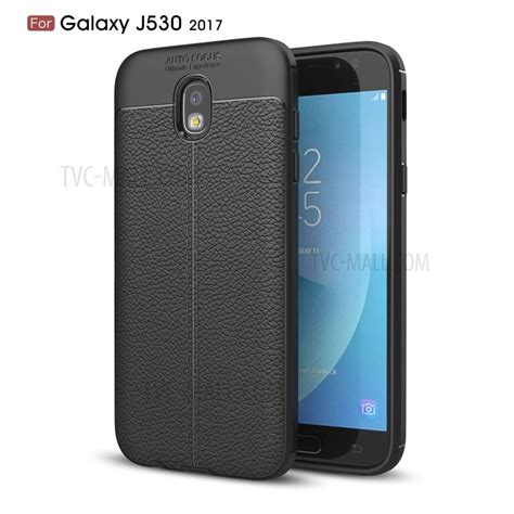Casing Samsung Galaxy J5 2017 J5 Pro X6069 litchi texture pu leather coated tpu for samsung