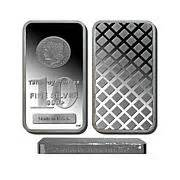 1 Troy Pound Dollar 100 Dollar Note Silver Bar - proof like quarter pound silver bar with 500 bill design