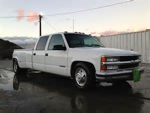 sell used 2000 chevy 3500 dually crew cab custom dropped