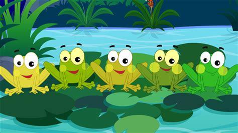 imagenes de ranas animadas navideñas cinco poco froggies cinco peque 241 as ranas nursery rhymes