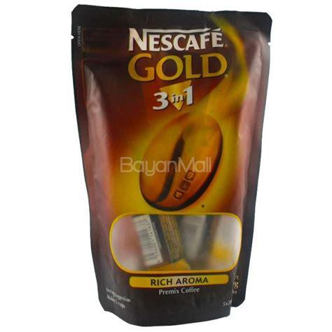 Nescafe Gold 3in1 20g X 10pcs nescafe gold 3in1 rich aroma premix coffee net wt 100g