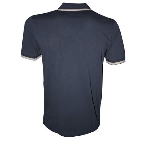 Polo Zipper hugo navy philson half zipper polo shirt polo shirts from designerwear2u uk