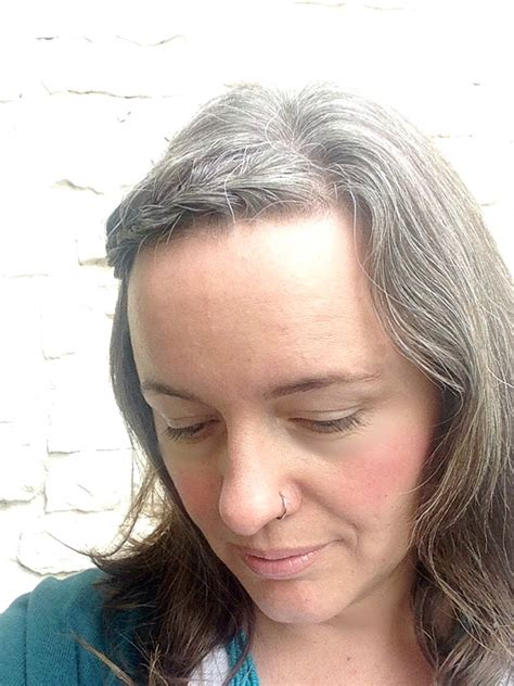 Gray Hair In Your 30s | on going gray in my thirties