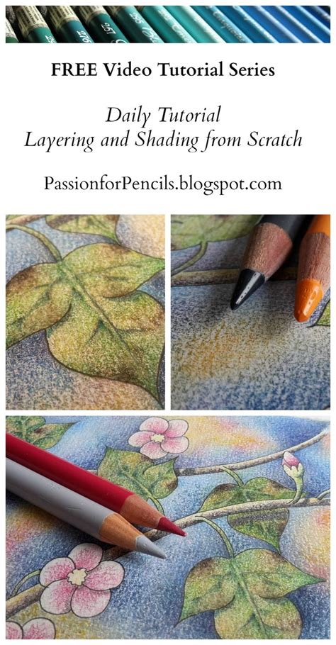 colored pencil techniques coloring book 25 best ideas about colored pencil tutorial on