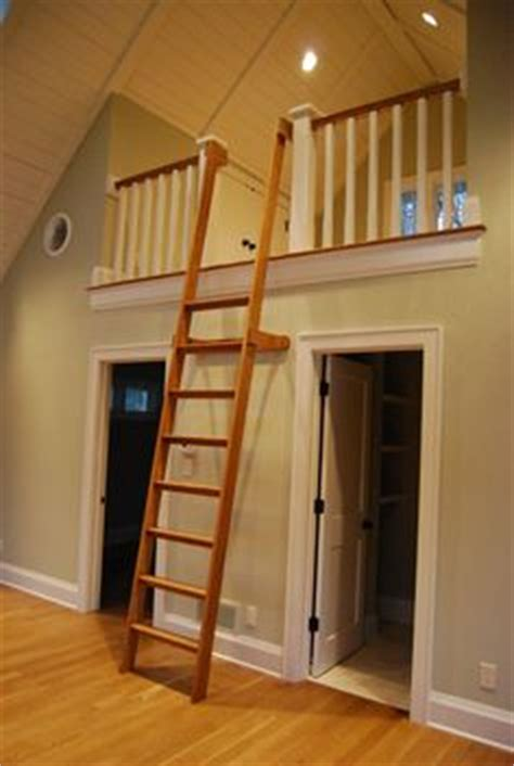 How To Paint A Stair Banister Loft Ladder Ideas On Pinterest Loft Ladders Ladder And