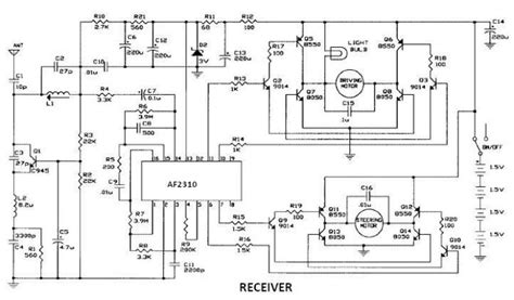 Voltmeter Dc 2310 af2310 radio controlled motor circuit design project circuit diagram world