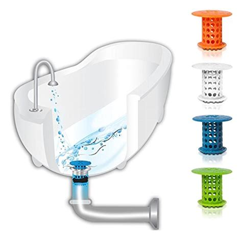 hair strainer for bathtub drain tubshroom the revolutionary tub drain protector hair catcher strainer snare white in