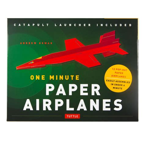 How To Make Paper Planes Book - one minute paper airplanes kit national gallery of