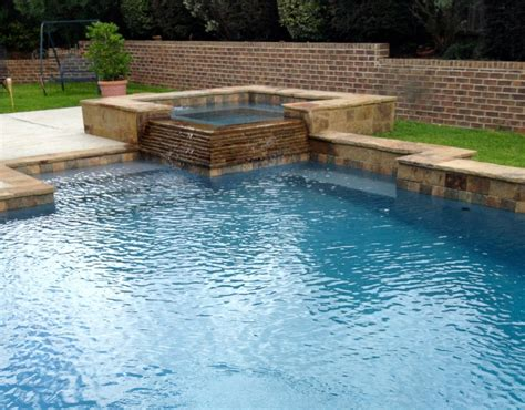 pools with spas pool and spa pictures