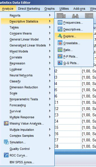 cara uji normalitas menggunakan spss 16 cara melakukan uji normalitas secara statistik uji
