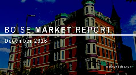 boise real estate market housing market home values