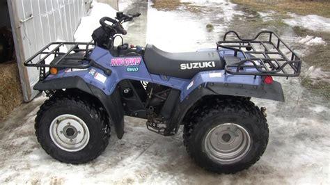 1995 Suzuki King 300 1994 Suzuki King 300 Walk Around And Ride