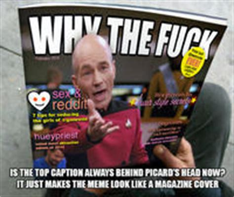annoyed picard image gallery know your meme