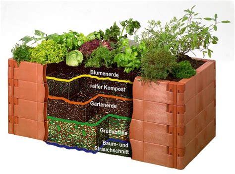 das hochbeet bauen bepflanzen und pflegen schoener