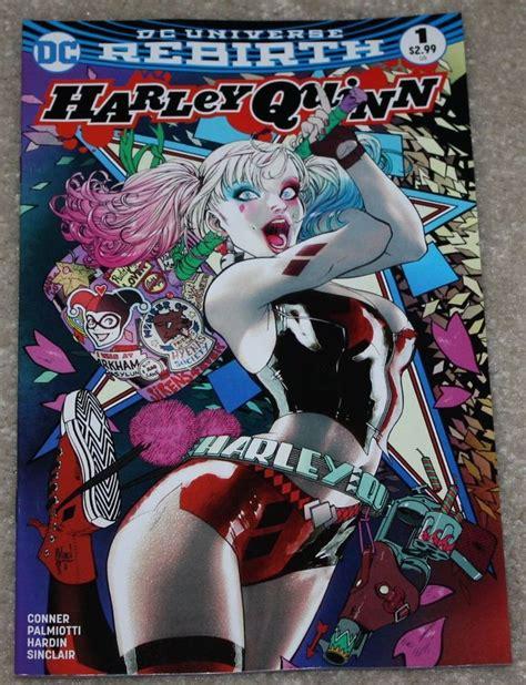 libro harley quinn the rebirth harley quinn 1 dc rebirth guillem march retailer color variant batman very hot christmas