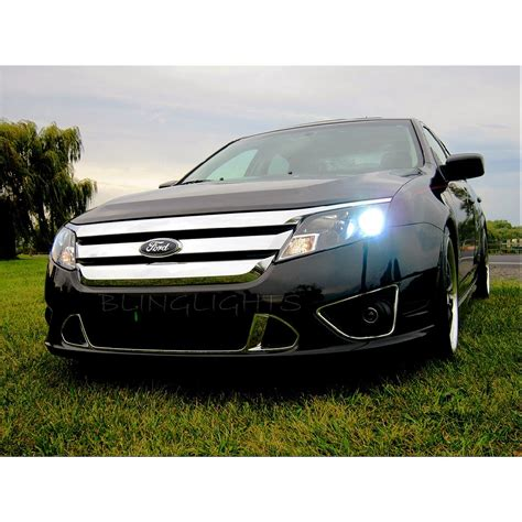2010 2011 2012 Ford Fusion Bright Light Bulbs For Halogen