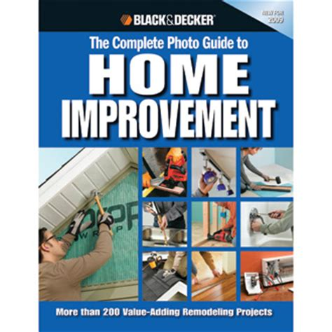 black and decker diy home improvement and maintenance