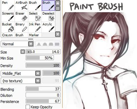 photoshop in paint tool sai 39 best images about paint tool sai brush settings on