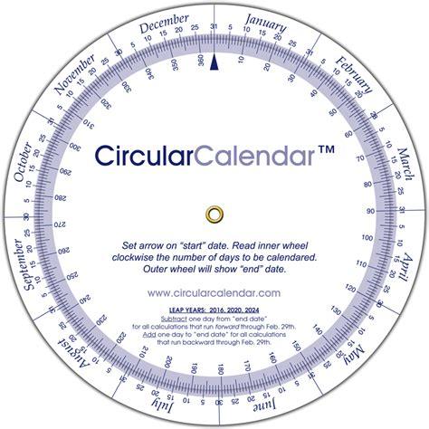 circular calendar template sle calendars calendar template 11 free sles