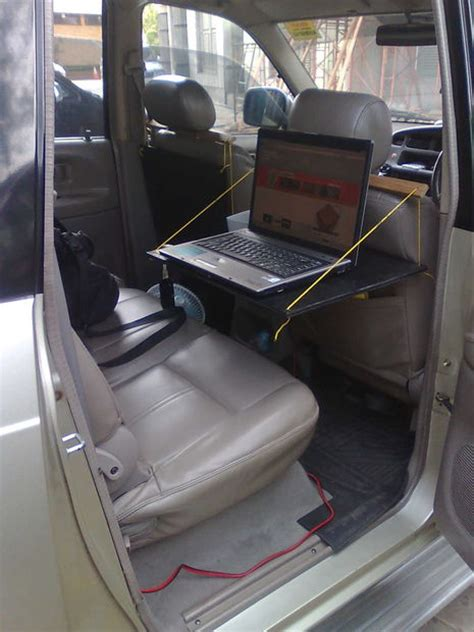 Make Laptop Table For Your Car Laptop Desk For Car