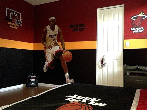 miami heat bedroom miami heat kids bedroom this is how my son wants his