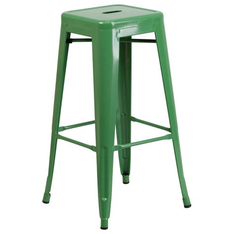 Green Stool For Days by Modern Bar Stools Avenue Green Bar Stool Eurway