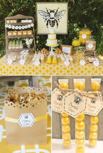 baby shower bumble bee decorating ideas baby shower