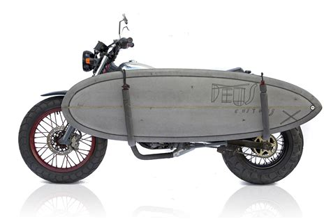 Motorcycle Surfboard Rack by Blaster Deus Ex Machina Custom Motorcycles Surfboards Clothing And Accessoriesdeus Ex