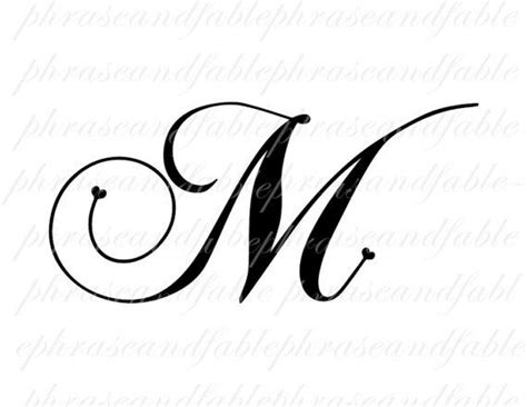 letter m tattoo designs pictures to pin on pinterest
