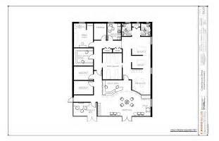 Clinic Floor Plan Exles Chiropractic Office Floor Plans