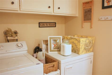 decorating ideas for laundry rooms balanced style my humble laundry room