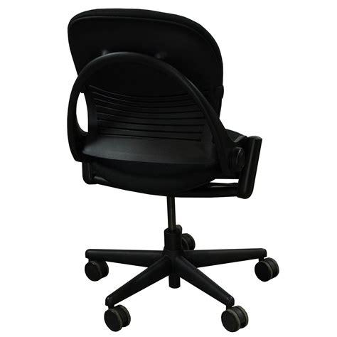 armless task chair steelcase leap armless used task chair black national
