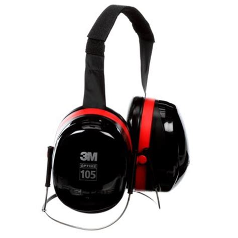 Earmuff Optime 105 With Neckband For The We Murah 3m peltor optime 105 the earmuffs h10b
