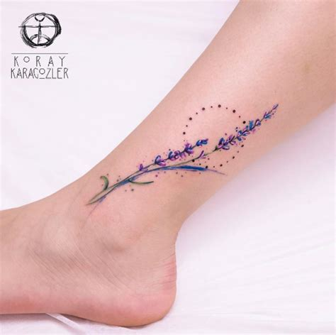lavendar tattoo 60 charming tattoos all naturalists will appreciate