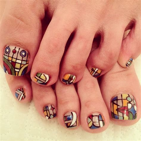 pattern toe nails 20 super cute pedicure trends styles weekly