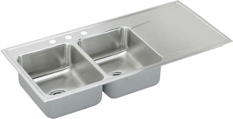 48 inch stainless steel sink elkay ilr4822lmr2 48 inch drop in bowl stainless