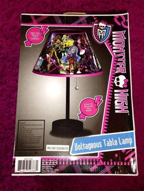 monster high bedroom decorating ideas monster high voltageous table l new room decor