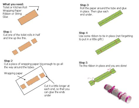 Creative Crafting Make Your Own Christmas Crackers Make Your Own Crackers Template