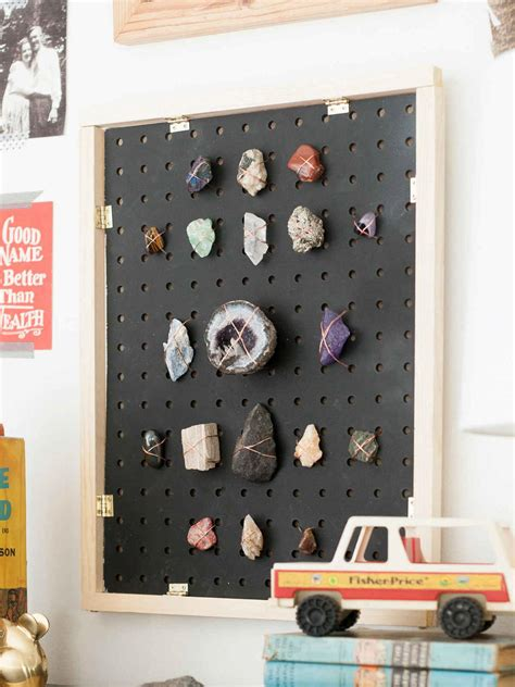 cool pegboard ideas precious pegboard collections you know all those rocks and