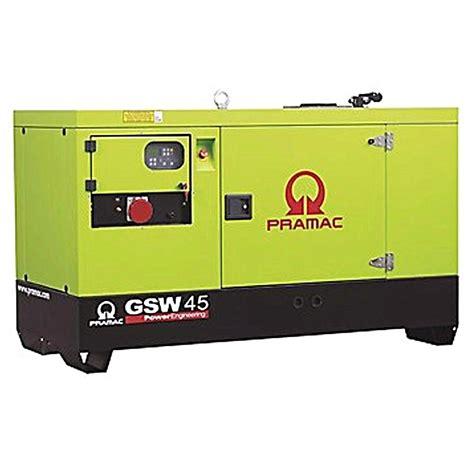 pramac gsw45y diesel generator standby diesel generator