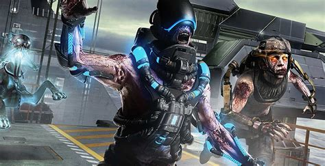 Exo Zombies Carrier   call of duty advanced warfare exo zombies carrier trailer